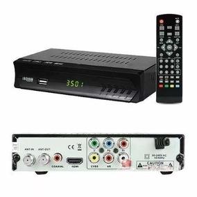 Conversor De Tv Digital Sinal Isdb-t Top Box Usb Gravador