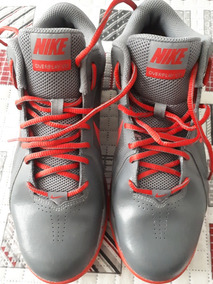 Tênis Basquete Masculino Nike - Cinza/vermelho