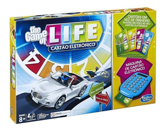 Jogo Da Vida The Game Of Life Com Máquina De Cartão - Hasbro