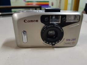 Câmera Analógica Máquina Fotográfica Canon Sn 280 Paranorama