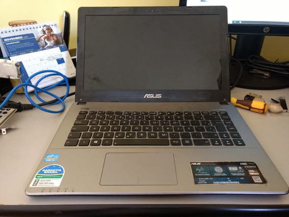 Notebook Asus X450ca Retira Peças - Tela 100% Ok Barato