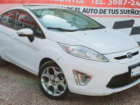 Fiesta Ses 2012 Blanco Automatico