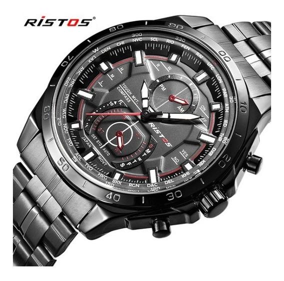 Relógio De Pulso Ristos Modelo No:9325g