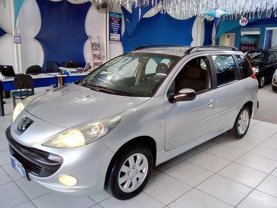 Peugeot 207 Sw Xr S 1.4 8v (flex) Financiamos Em Ate 48x