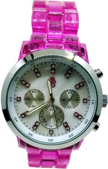 Relógio Atlantis Feminino Acrílico