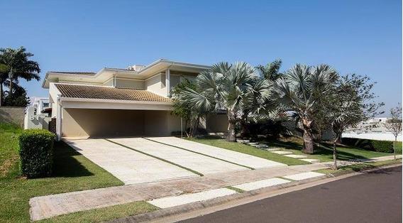Casa Com 4 Dormitórios À Venda, 618 M² - Condomínio Jardim Paradiso - Indaiatuba/sp - Ca0076