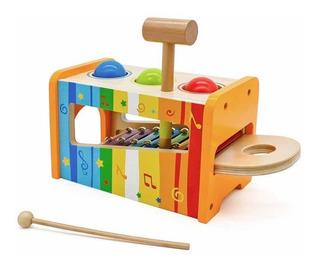Juguete Didáctico De Madera Caja De Sonido