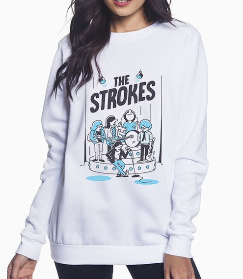 Sudadera Unisex Banda The Strokes Is This It Caricatura