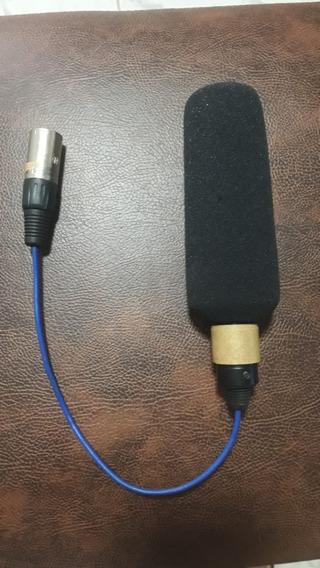 Microfone Para Filmadoras Sony, Panasonic Hmc150 Ac130 Ac90