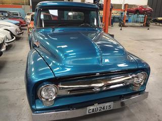 Ford - F 100 - 1959 - Azul Metalica