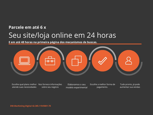 Construção De Sites E Loja Online