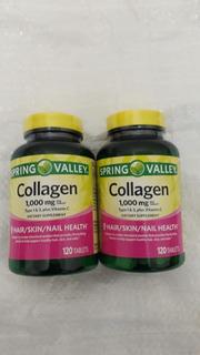 Collagen Colageno Hidrolizado 1g + Vitamina C 30mg C/240 Tab