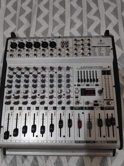 Mixer Amplificado Behringer Europower Pmh1000