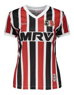 Camisa Cobra Coral Santa Cruz I 2017 Feminina