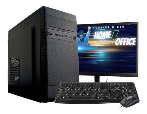 Imagem 1 de 1 de Computador Pc Corei3 4gb Ssd 120 Monitor 18.5 Mouse Teclado