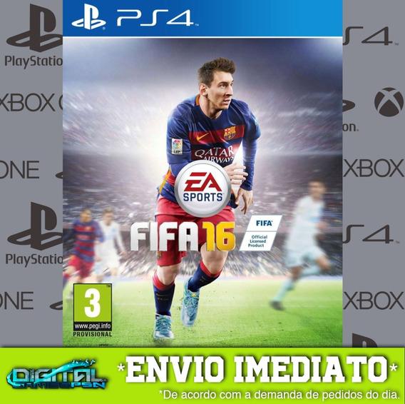 Fifa 16 Ps4 Psn Envio Digital Rapido Original Original