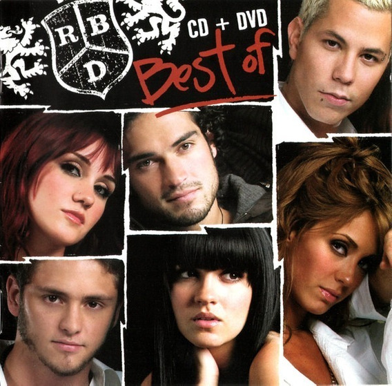 Rbd Best Of Cd+dvd Nuevo Cerrado 100 % Original En Stock