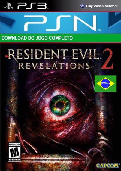 Resident Evil Revelation 2 Ps3 Midia Digital Psn - Leg - Pt