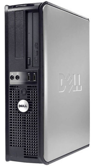 Micro Cpu Dell 320 Dual Core Mem 2gb Hd 160gb + Monitor 17