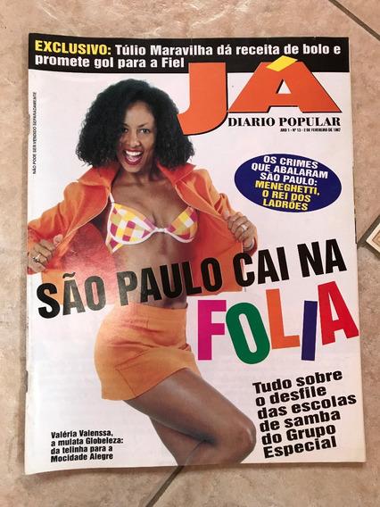 Revista Já 13 Carnaval São Paulo 1997 Valéria Valenssa D348