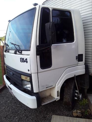 Cargo 814 814 S Baú