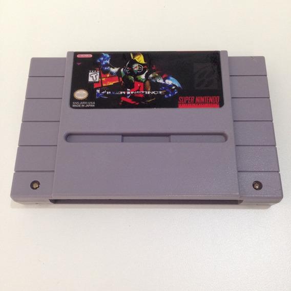 Fita Killer Instinct Original Relabel - Super Nintendo