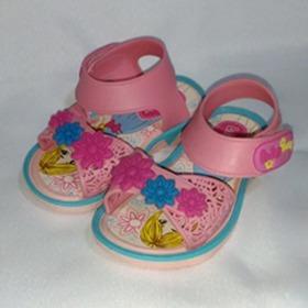 Sandália Baby Rosa Boneca - Bl152