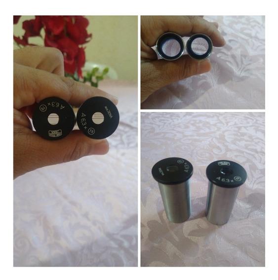 Oculares Zeiss Microscópio, Par.
