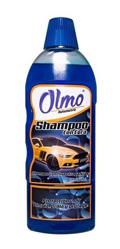 Imagen 1 de 1 de Shampoo Con Cera 600 Ml Olmo Automotriz