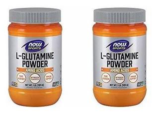 Lglutamina En Polvo Now Foods 1 Libra Pack De 2
