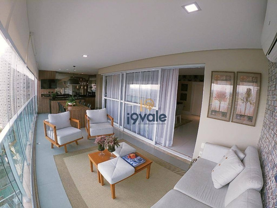 Apartamento De Luxo Com 4 Dormitórios À Venda, 245 M² Paesaggio Jardim Das Colinas - São José Dos Campos/sp - Ap2073