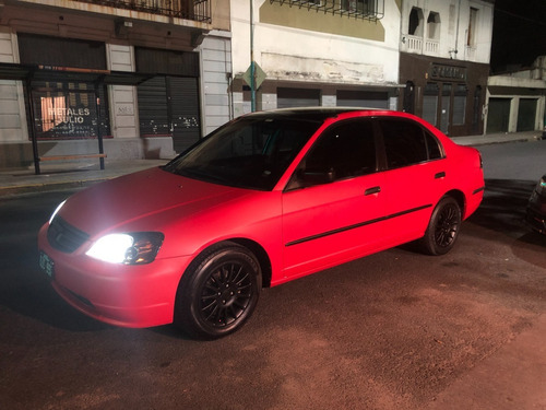 Honda Civic Ex 1.7 2002 Unico Impecable