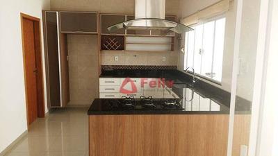 Casa Com 3 Dormitórios À Venda, 180 M² Por R$ 650.000 - Caminho Novo - Condomínio Campos Do Conde Versailles - Tremembé/sp - Ca1405