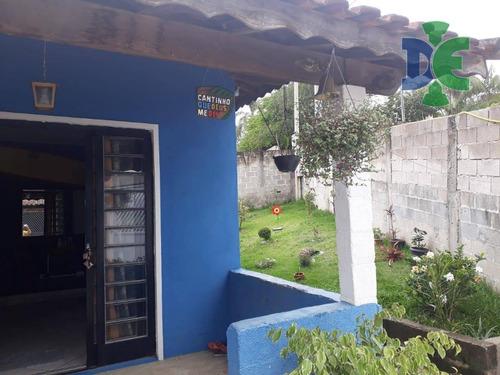 Chácara Com 3 Dormitórios À Venda, 1092 M² Por R$ 350.000,00 - Veraneio Ijal - Jacareí/sp - Ch0026