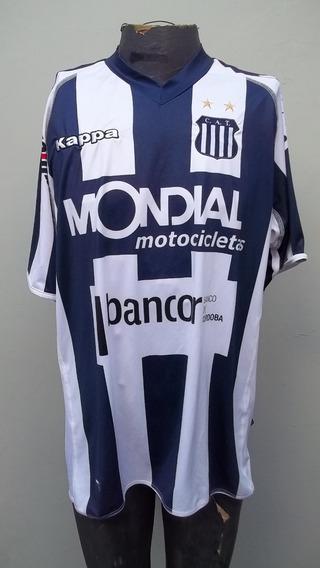 Camiseta De Talleres De Córdoba #4 Talle L - Kappa -