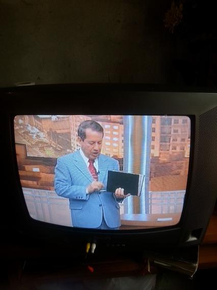 Tv Tubo Philips 21 Polagadas