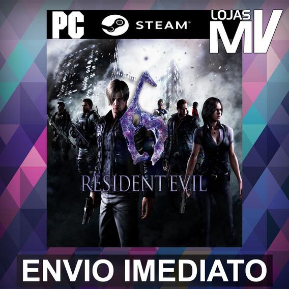 Resident Evil 6 Pc Steam Gift Presente