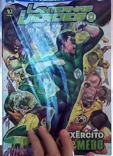 Livro Universo Dc Renascimento Nº4 Lanternas Verdes Vários