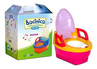 Bacinica Musical Multicolor Rs-70030