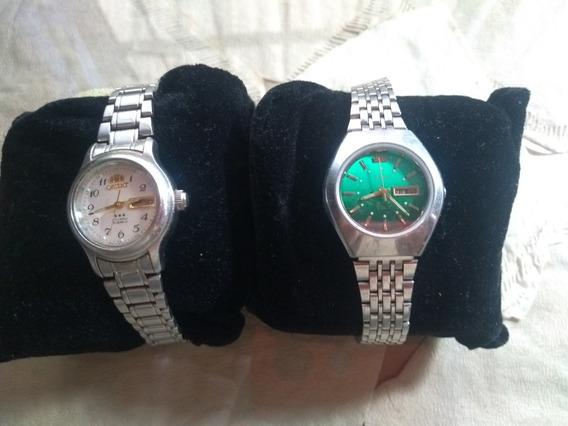 Dois Relógios Orient Feminino Antigo E Original