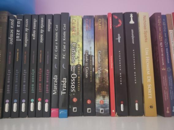 Livros (literatura Estrangeira E Nacional), Cds E Dvds