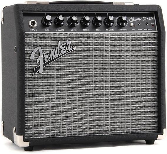 Fender 233-0205-900 Amplificador Guitarra Champion 20 W Efec