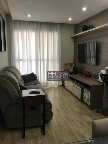 Apartamento Com 3 Dormitórios À Venda, 78 M² Por R$ 790.000,00 - Santana (zona Norte) - São Paulo/sp - Ap0938