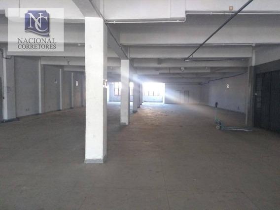 Prédio Para Alugar, 4600 M² Por R$ 60.000,00/mês - Brás - São Paulo/sp - Pr0105