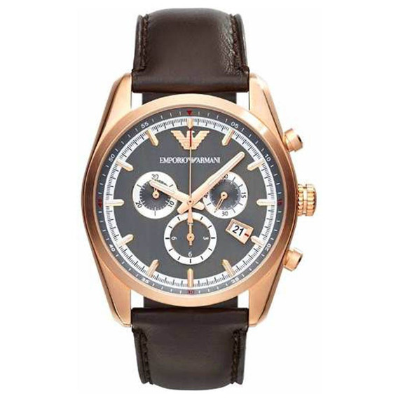Reloj Análogo Marca Armani Modelo: Ar6043 Color Oro / Marron