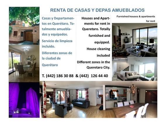 Casas Y Departamentos Amueblados De Lujo En Querétaro