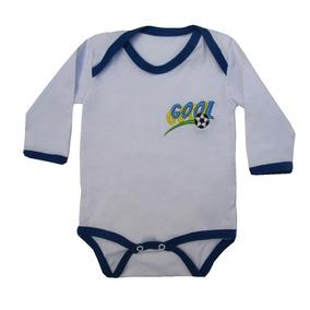Body Do Brasil Infantil - Bebê - Copa Do Mundo 2018