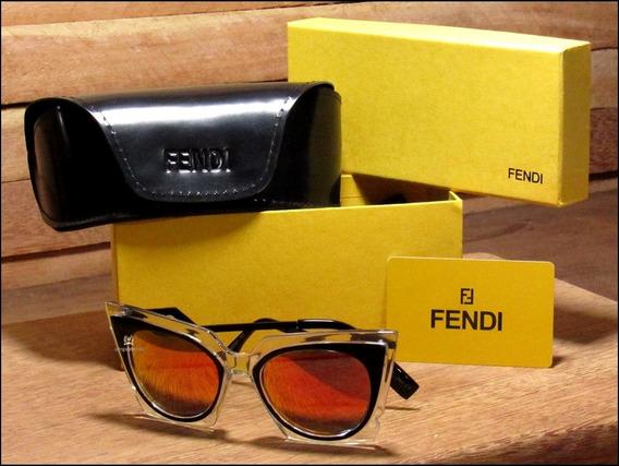 Óculos De Sol Fendi Orchidea Unisexx Já No Brasil °0968°