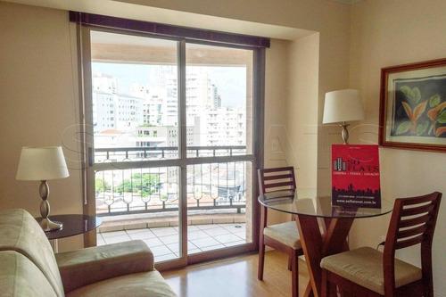 Flat No Itaim Bibi 01dorm 52m² , Perfeito Para Investimento Ou Moradia. - Sf32402