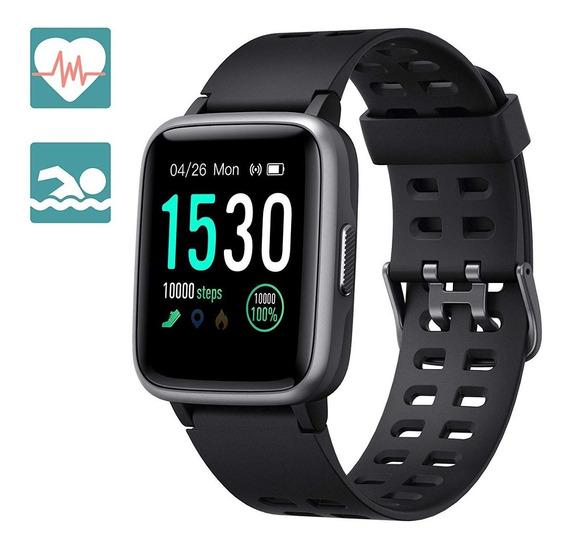 Smartwatch Bluetooth Reloj Inteligente Gps Rastreador Negro